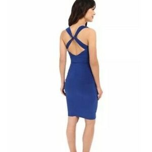 NWT Laundry By Shelli Segal Blue Beret Dress 2